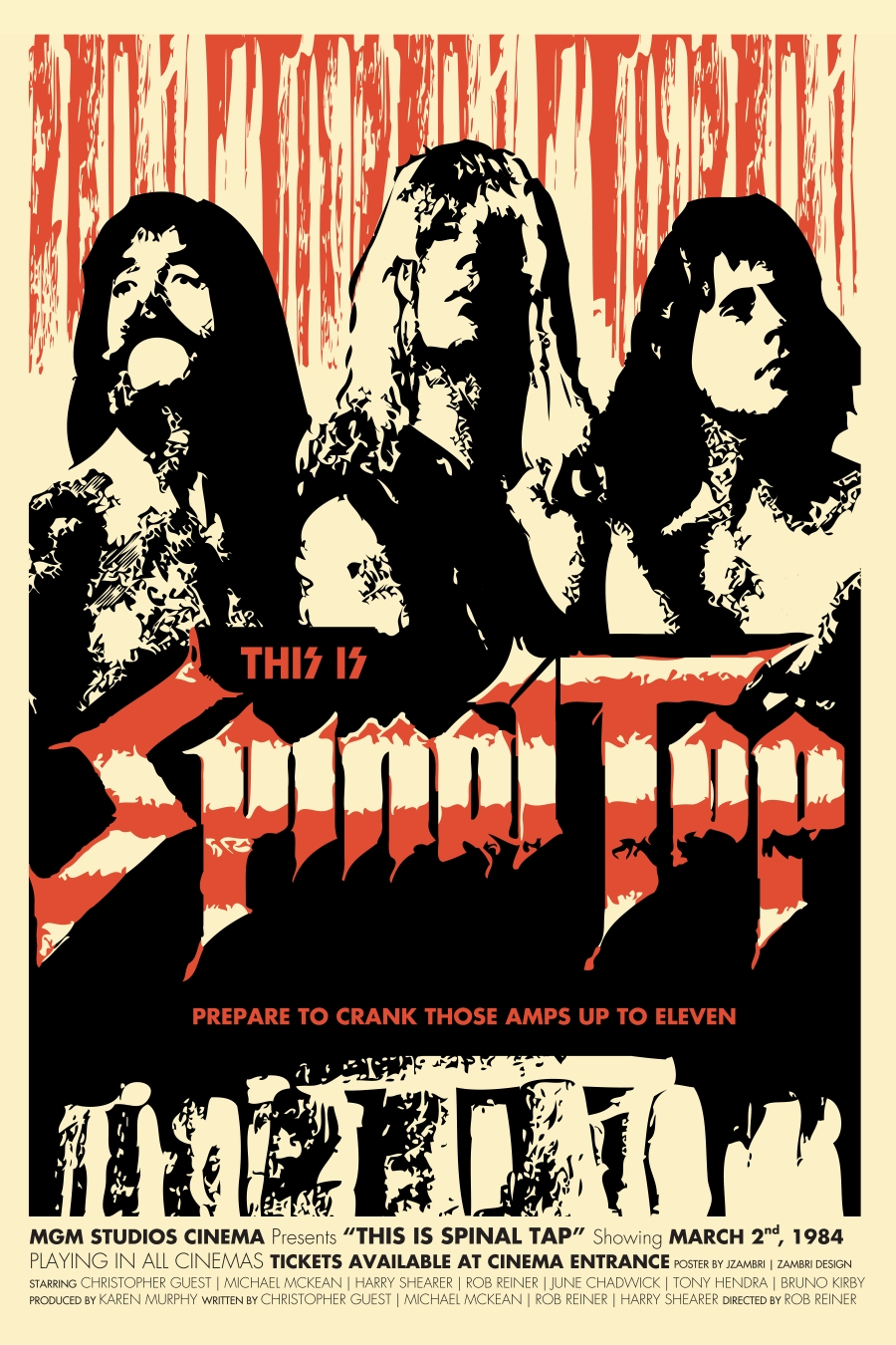 This Is Spinal Tap Movie Poster | Zambri Design