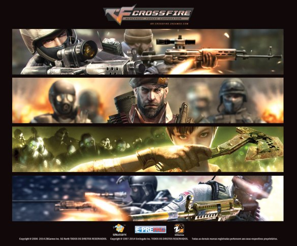 Crossfire: Professional Tournament Gaming Mousepad Design